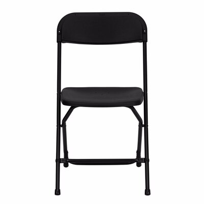 Taylor Folding Chair Finish: Black