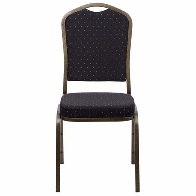 Taylor Crown Banquet Chair Seat Finish: Black