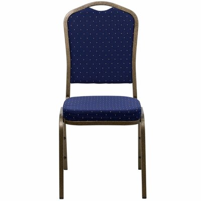Taylor Crown Banquet Chair Seat Finish: Blue