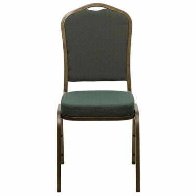 Taylor Crown Banquet Chair Seat Finish: Green