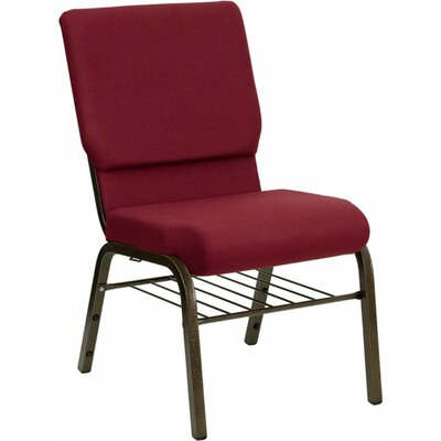 Taylor Church Chair Frame Finish: Gold Vein, Seat Finish: Burgundy