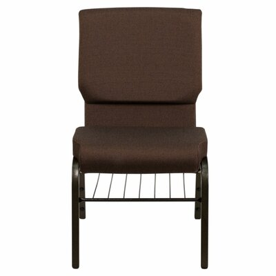 Taylor Church Chair Frame Finish: Gold Vein, Seat Finish: Brown