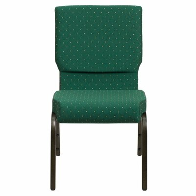 Taylor Stacking Church Chair Seat Finish: Green