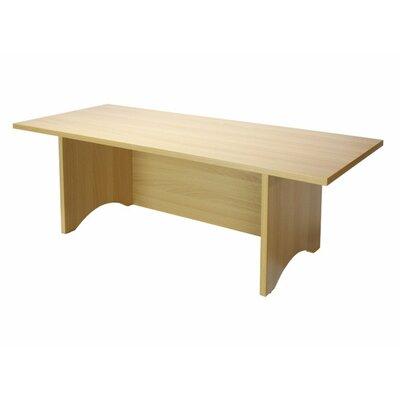 "Mann 12"" H x 36"" W Standing Desk Conversion Unit Finish: Golden Beach"