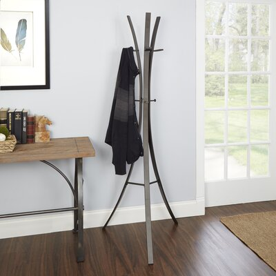 Bump Metal Tripod Standing Coat Rack
