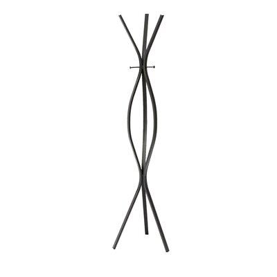 Bachand Modern Coat Rack Color: Black