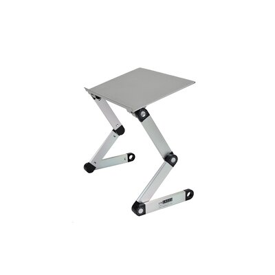 """Avery 18"""" H x 17"""" W Rotating Laptop Stand Finish: Silver"""