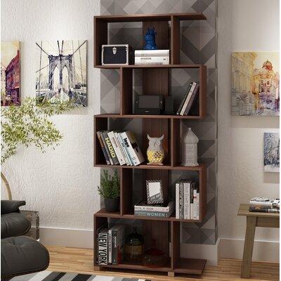 Erica Cube Unit Bookcase Color: Nut Brown