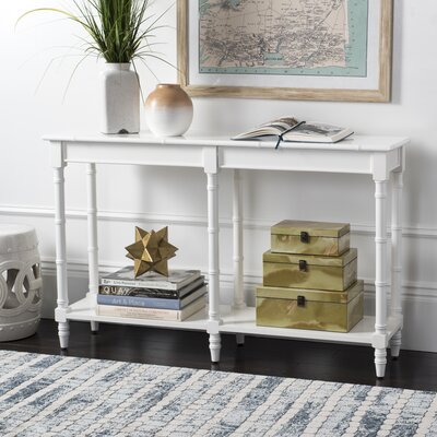 Jordon Console Table Color: White