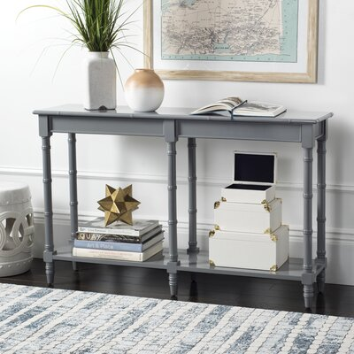 Jordon Console Table Color: Gray