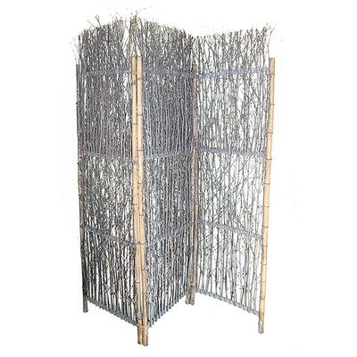 Piyush Willow 3 Panel Room Divider