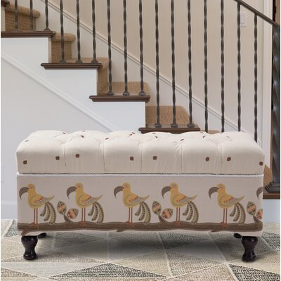 Crosby Upholstered Storage Bench