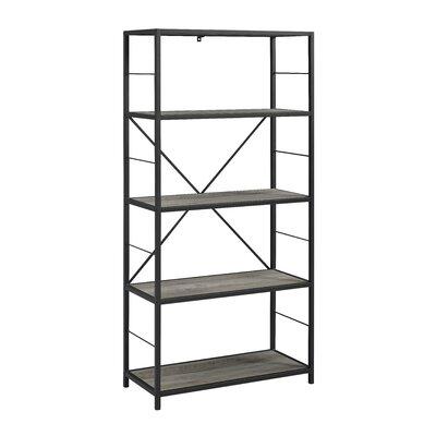 Bowdoin Etagere Bookcase Color: Gray Wash