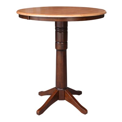 Coleridge Pub Table Color: Cinnamon/Espresso