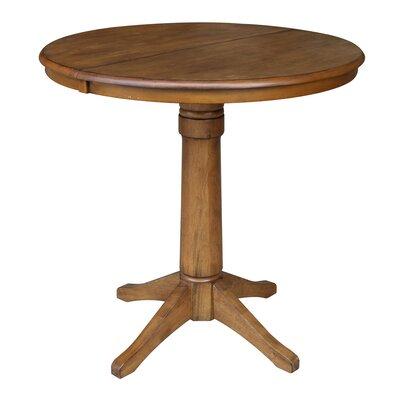 Codman Pub Table Color: Pecan