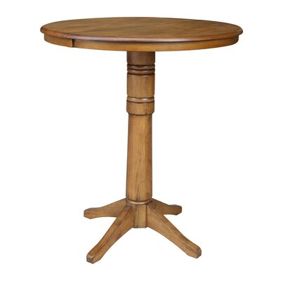 Coleridge Pub Table Color: Pecan