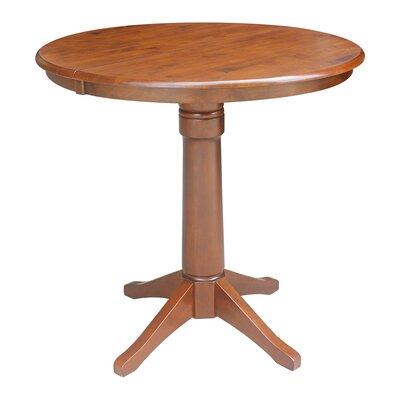 Codman Pub Table Color: Espresso