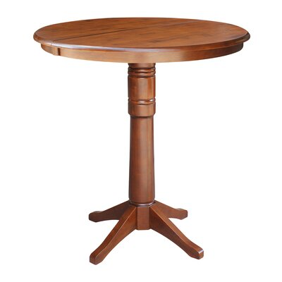 Coleridge Pub Table Color: Espresso