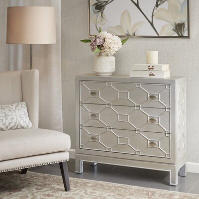 Andrus 3 Drawer Accent Chest