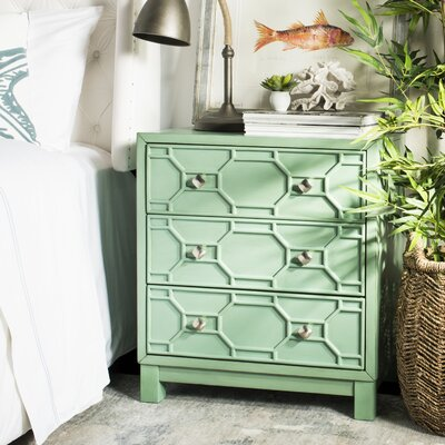 Stetson 3 Drawer Accent Chest