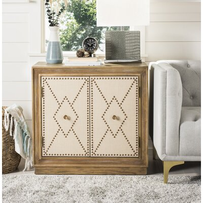 Marcel 2 Door Accent Chest Color: Rustic Oak