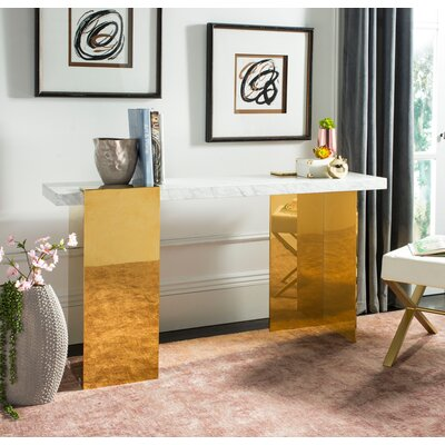 Kuhl Marble Console Table