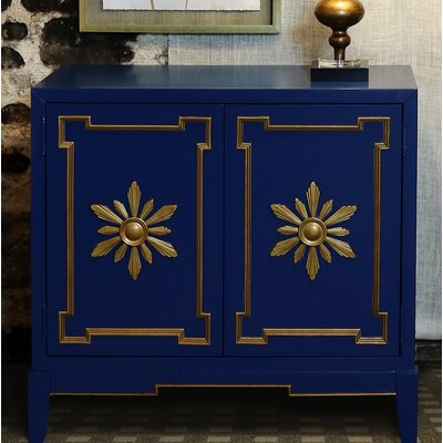 Marla 2 Door Accent Cabinet Color: Royal Blue