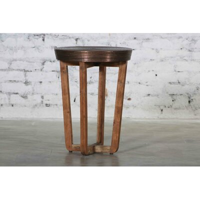 Erin Wooden Accent Stool