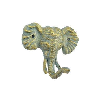 LaTeisha Cast Iron Wall Hook Color: Bronze