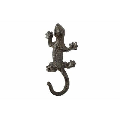 Yichuan Cast Iron Wall Hook Color: Dark Brown