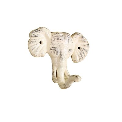 LaTeisha Cast Iron Wall Hook Color: Cream