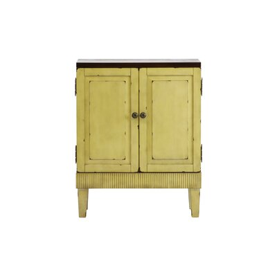 Basey 2 Door Accent Cabinet Color: Distressed Ivory
