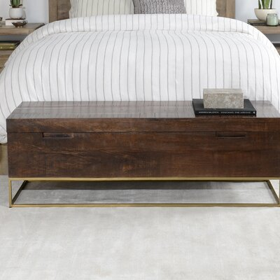 Marx Wood Storage Bench