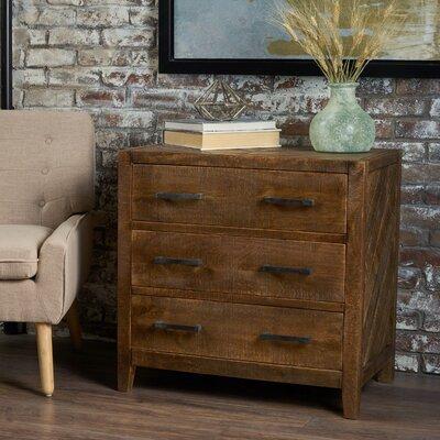 Brimfield Wooden 3 Drawer Accent Chest