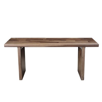 Arness Wood Dining Bench