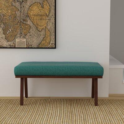 Buckingham Bench Upholstery: Teal