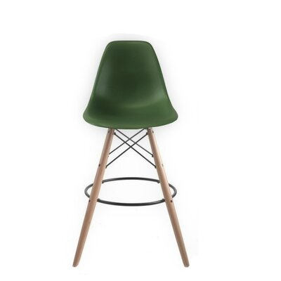 Westcott Accent Stool Color: Green
