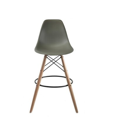 Westcott Accent Stool Color: Gray