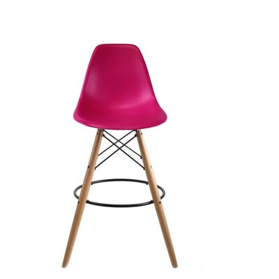 Westcott Accent Stool Color: Pink