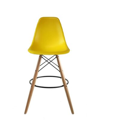 Westcott Accent Stool Color: Yellow