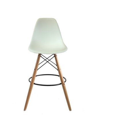 Westcott Accent Stool Color: White