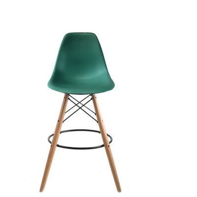 Westcott Accent Stool Color: Peacock
