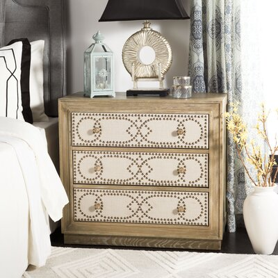 Ahumada 3 Drawer Accent Chest Color: Rustic Oak