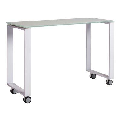 "Pramod 40"" Console Table Color: White"