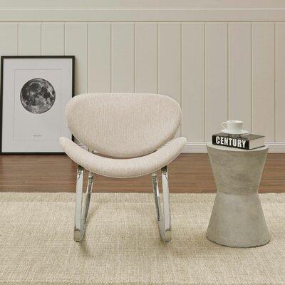 Northridge Rocking Chair Fabric: Tan Textured Strie