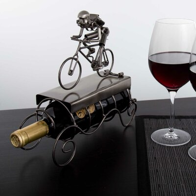 Gallimore Cyclist 1 Bottle Tabletop Wine Rack