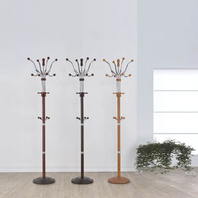 Guarani Coat Rack Color: Oak