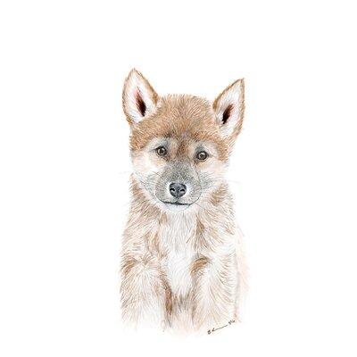 """Athena Dingo Portrait Paper Print Size: 12.5"""" H x 10.5"""" W x 0.02"""" D"""