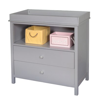 Kameron Changing Dresser Color: Gray