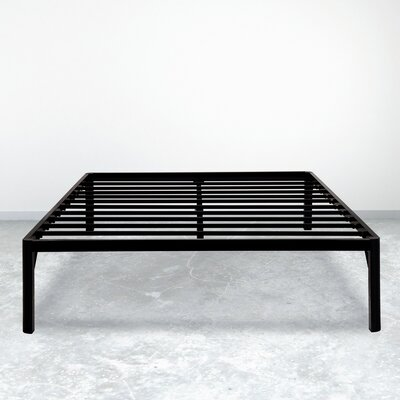 Dura Metal Steel Slate Bed Frame Size: Full